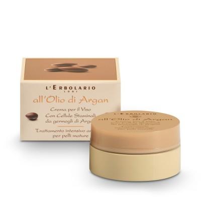 Argan Oil - Face Cream - Intensive anti-age treatment for mature skin - 50 ml