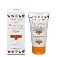Piccolosole - Baby Face/ Body Sun Cream - SPF 50+ - 75 ml