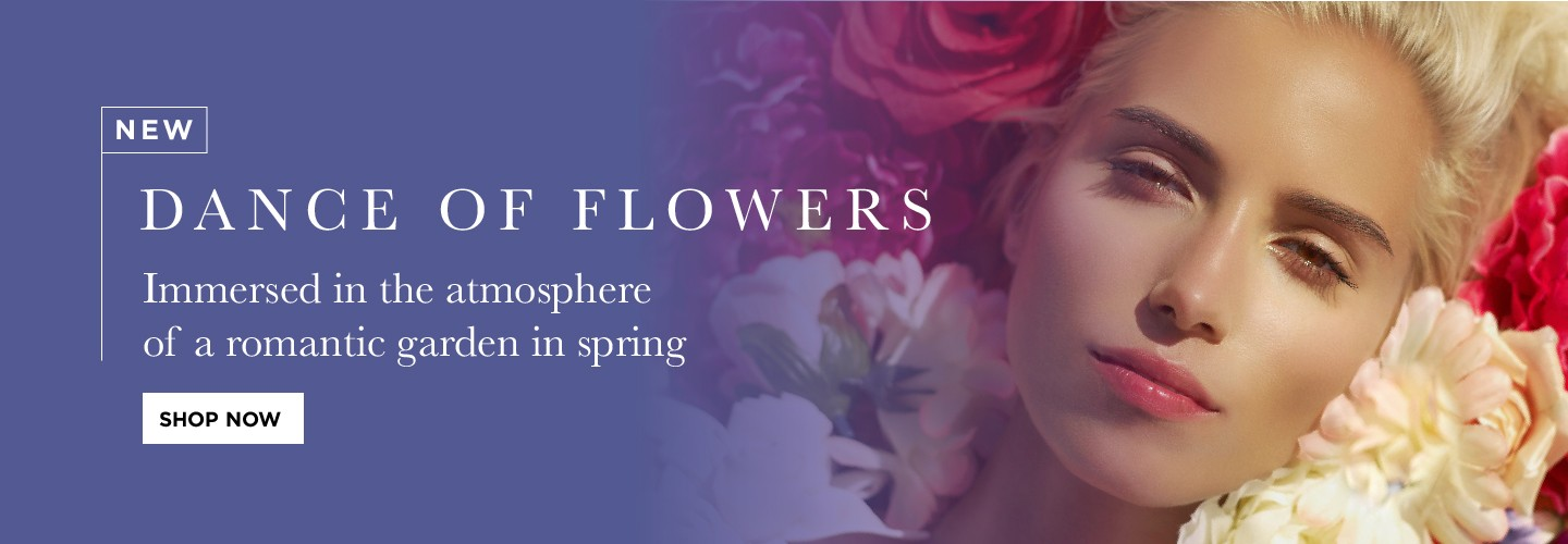 A special fragrance by selecting the delightful flowers used for our most successful lines